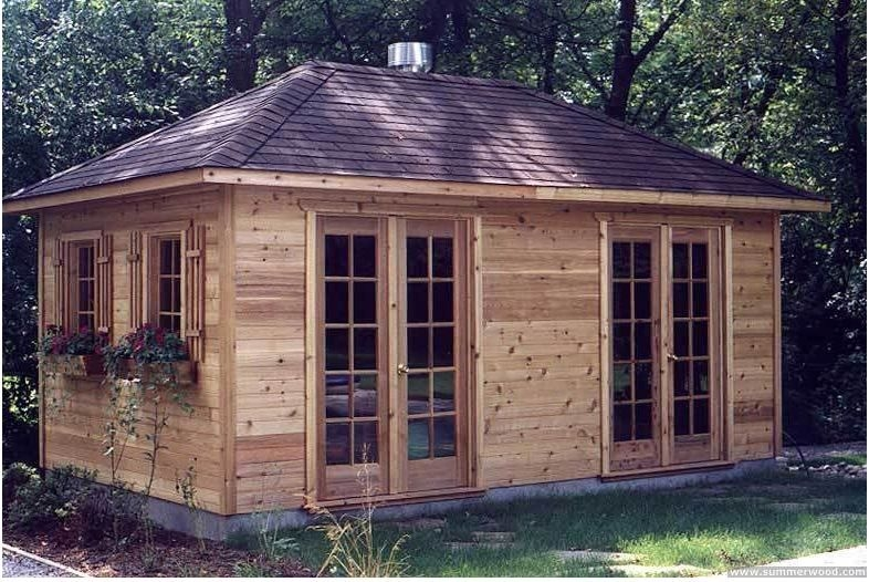 10 x 20 cabin guest cottage pinterest cabin cottage and house Small Cabin Plans With Loft 10x20