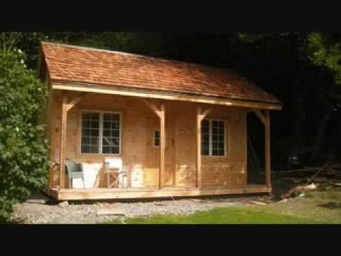 16x20 vermont cottage kit rough sawn post and beam youtube 20x30 Prefab Cabin On Youtube
