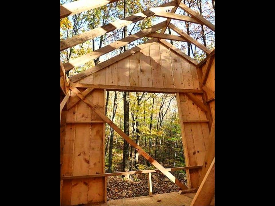 16x20 vermont cottage tiny house home cabin post and beam youtube 20x30 Prefab Cabin On Youtube