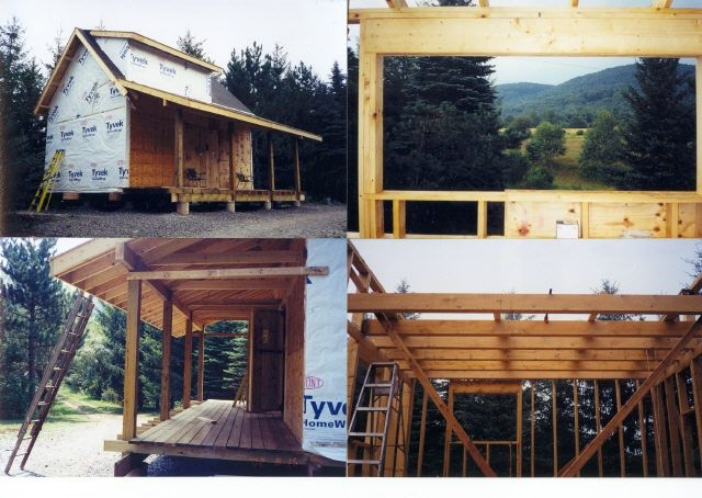 16x24 cabin note loft stairs tiny pinterest cabin house and 16x24 Cabin Plans With Loft