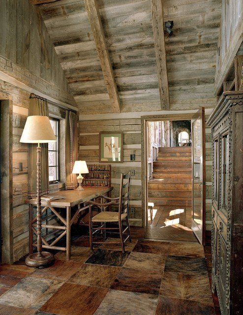 21 rustic log cabin interior design ideas loghomedecoratingtip Rustic Log Cabin Interiors
