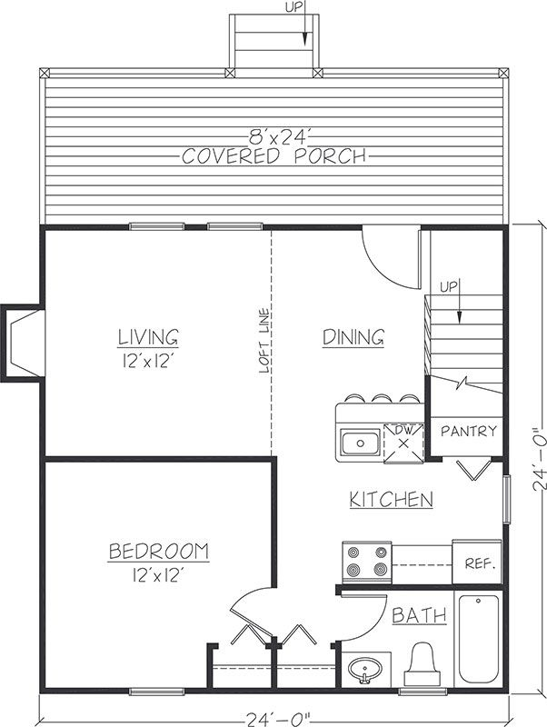 24 x 36 cabin plans with loft bing images cabin pinterest 24x24 Cabin Floor Plans With Loft