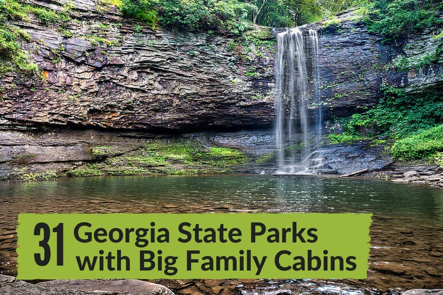 31 georgia state parks with big family cabins sixsuitcasetravel Georgia State Parks Cabins