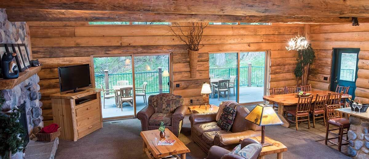 5 bedroom entertainment cabin wilderness resort wisconsin dells Wisconsin Dells Wilderness Cabins