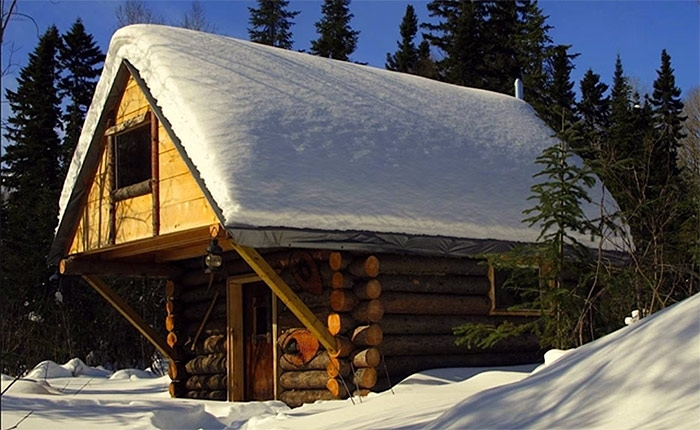 500 off grid cabin how to build a cabin without a permit off Building A Cabin In The Alaskan Wilderness