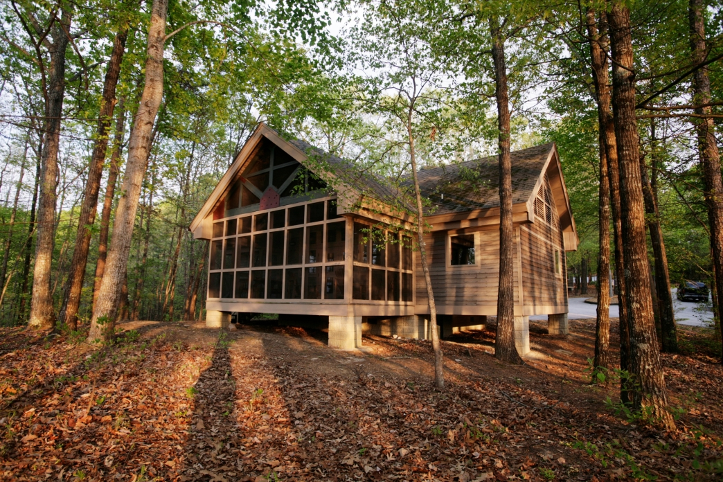 8 fantastic cabins in south carolina state parks Hickory Knob State Park Cabins