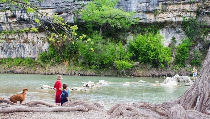 9 great camping spots to scope out in the texas hill country Guadalupe River State Park Cabins