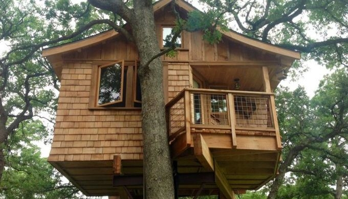 9 whimsical texas tree houses and cabins Camping In Texas With Cabins