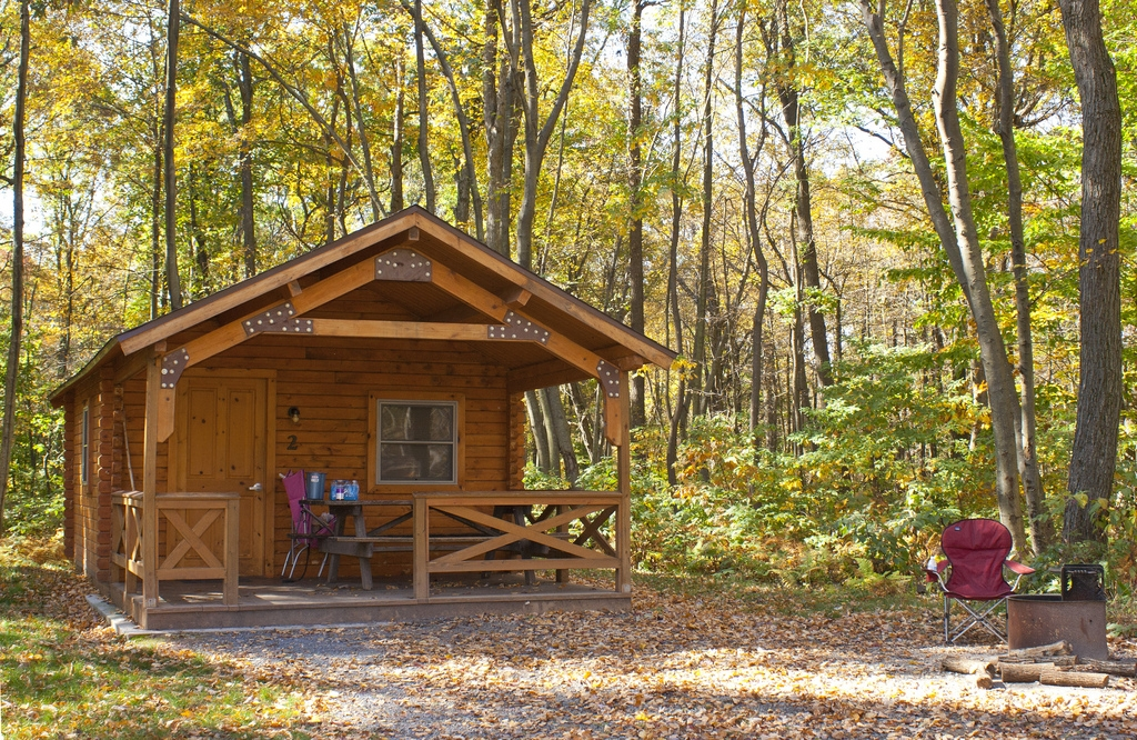 a camping cottage at french creek state park this cozy wo flickr French Creek State Park Cabins