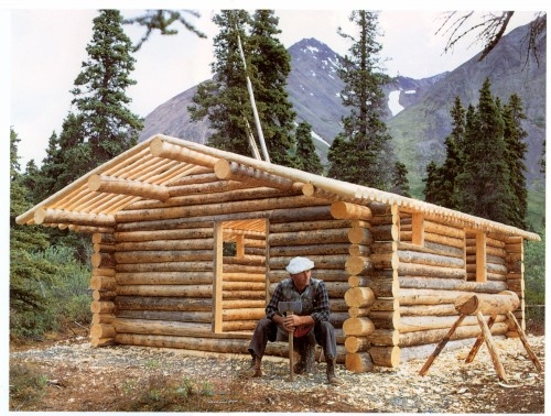 alone in the wilderness part 1 2 alaska public media Building A Cabin In The Alaskan Wilderness