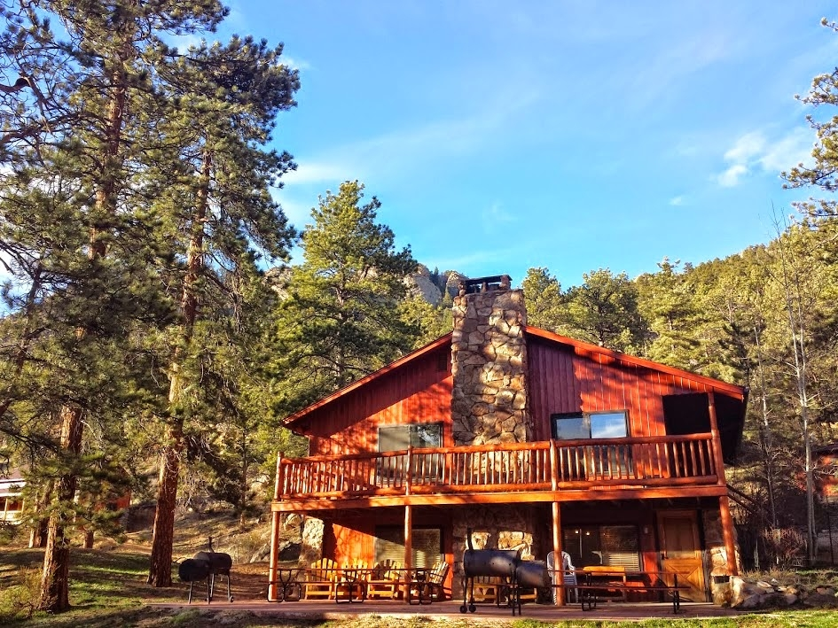 amberwood estes park colorado cabins lodge vacation home Cabins Rocky Mountain National Park