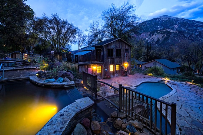avalanche ranch cabins and hot springs along the crystal river Cabins In Glenwood Springs Co