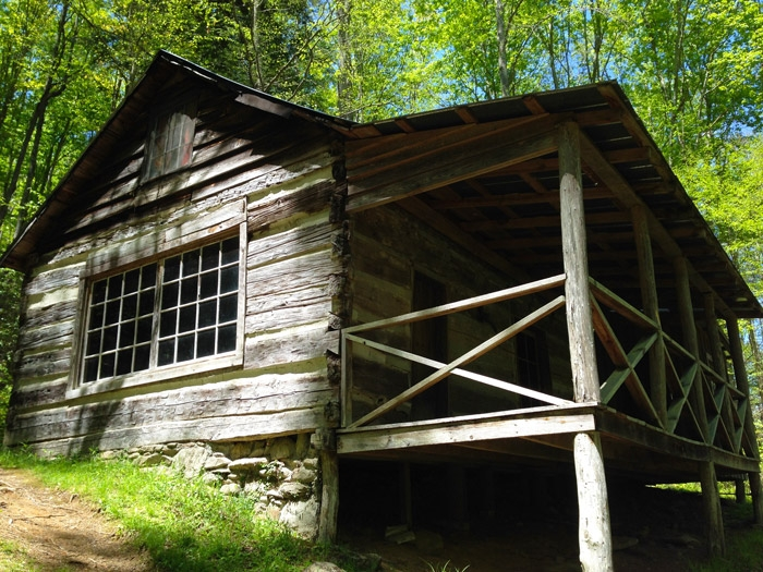 avent cabin history hiking trail and directions Cabins In Smoky Mountain National Park