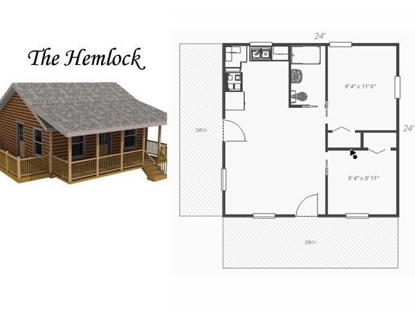 awesome 2424 cabin plans with loft gallery log cabin plans 24x24 Cabin Floor Plans With Loft