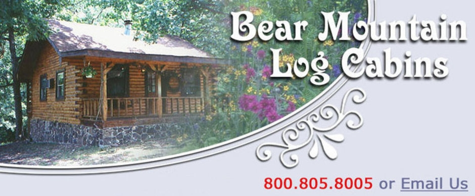 bear mountain log cabins home Cabins In Mountain Home Ar