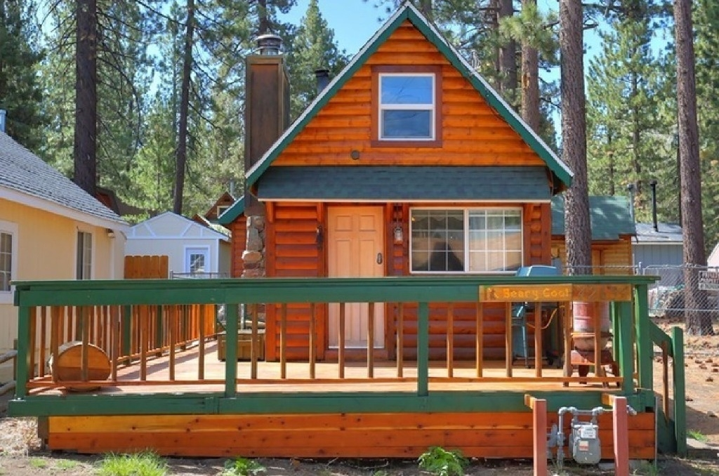 beary cool cabin lower moonridge pet friendly fully fenced big bear Pet Friendly Cabins In Big Bear
