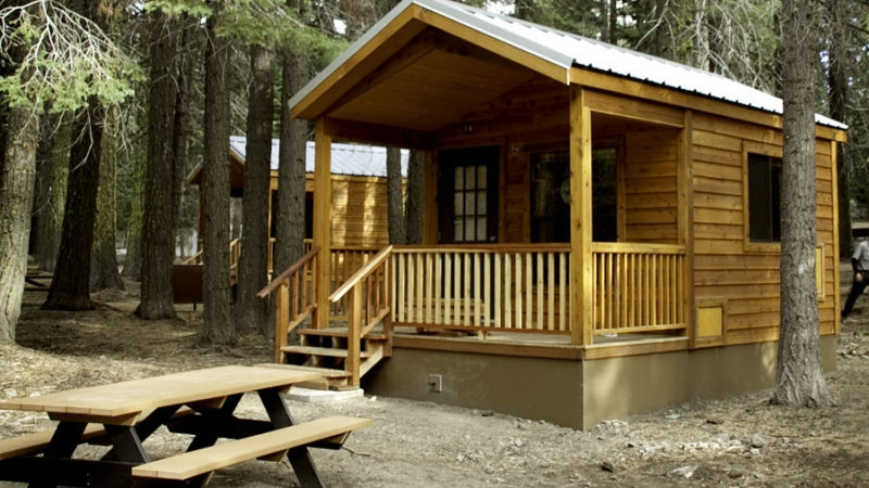 best cabins for getaways sunset magazine Cabin Camping In California