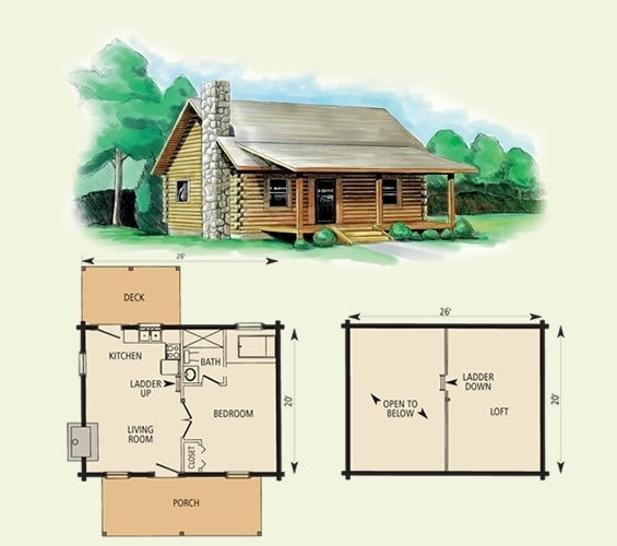 best small log cabin floor plans and pictures ideas log cabin plans Small Log Cabin Floor Plans With Loft