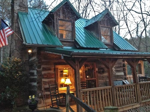 blessed beyond measure tr13 gatlinburg authentic log cabin in Secluded Cabins In Gatlinburg Tn