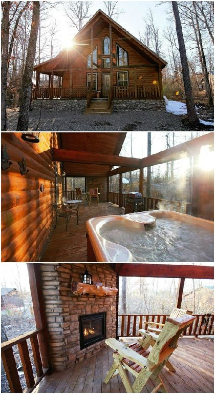 blue beaver luxury cabins are located only a few minutes from Oklahoma Cabins With Hot Tubs