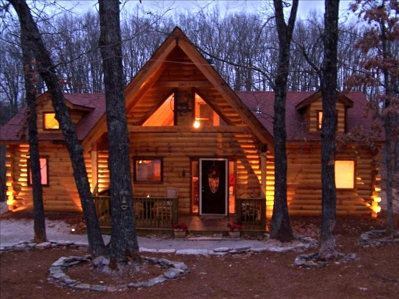 branson log cabin private hot tub firepl vrbo Cabins In Branson Mo With Hot Tubs