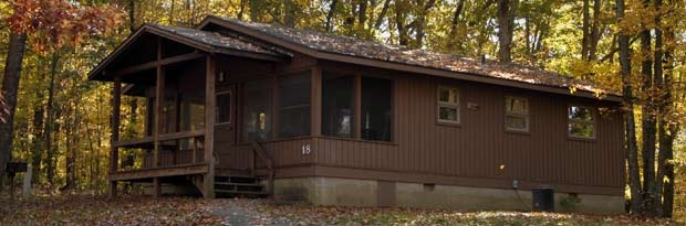 burr oak state park State Parks In Ohio With Cabins