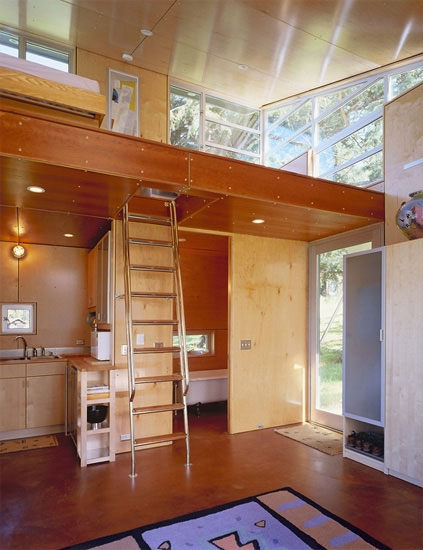 c 3 cabin and plans 480 sq ft modern loft tiny home Modern Cabin Plans With Loft