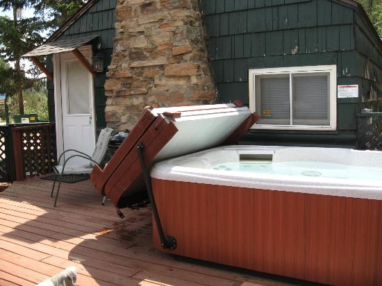 cabin 1 lady of the river private hot tub picture of rustic river Estes Park Cabins With Private Hot Tubs