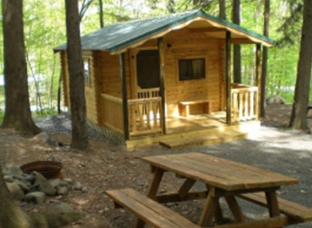 cabin camping mountain vista cabin camping in the pocono mountains Pa Campgrounds With Cabins