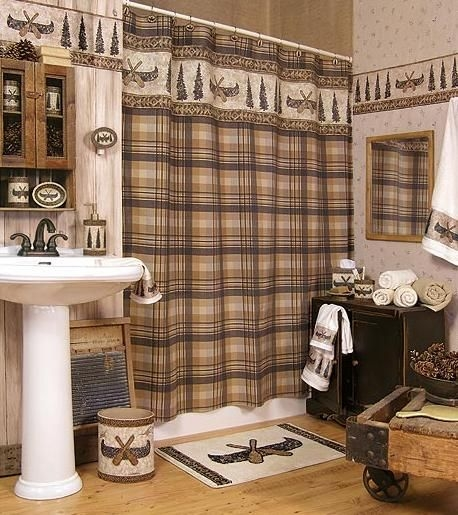 cabin decor bathroom camping cabin lodge decor bathroom Cabin Bathroom Accessories