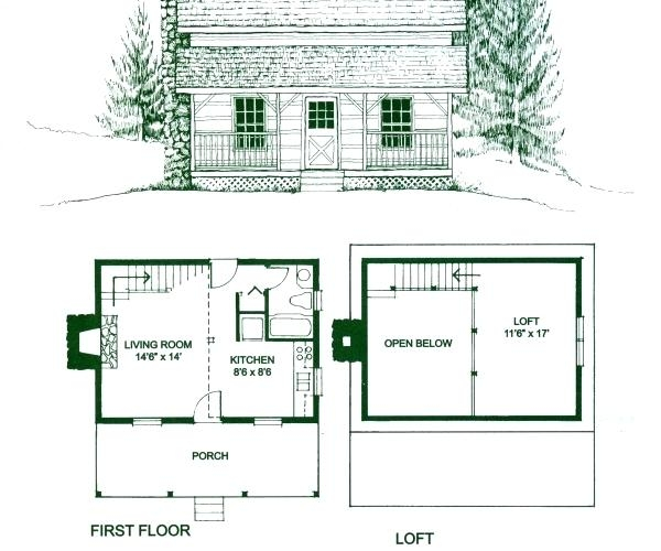 cabin floor plans free hungrybuzz Small Cabins With Loft Floor Plans