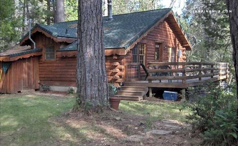 cabin getaway with hot tub near yuba river california Cabins With Hot Tubs In Texas