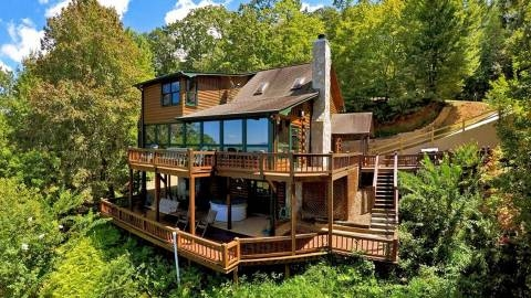 cabin rental companies fannin county chamber of commerce blue Blue Ridge Mountains Cabins