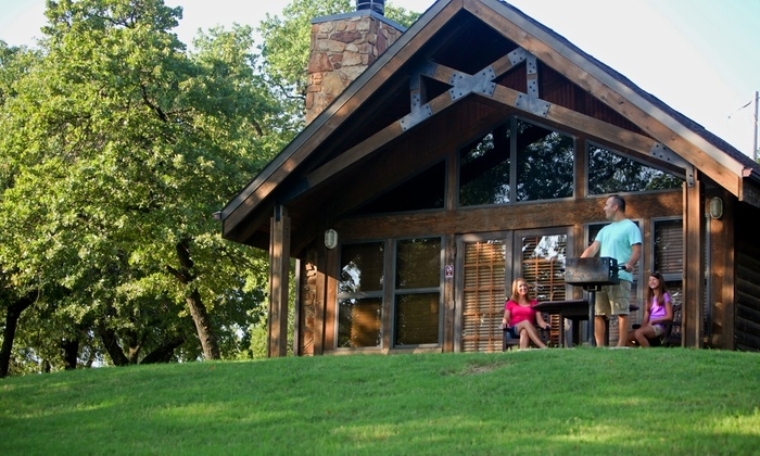 cabin stay for up to four keystone state park groupon Oklahoma State Parks Cabins