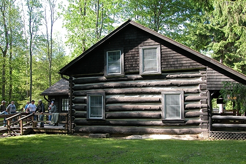 cabins and unique houses Pa State Parks With Cabins