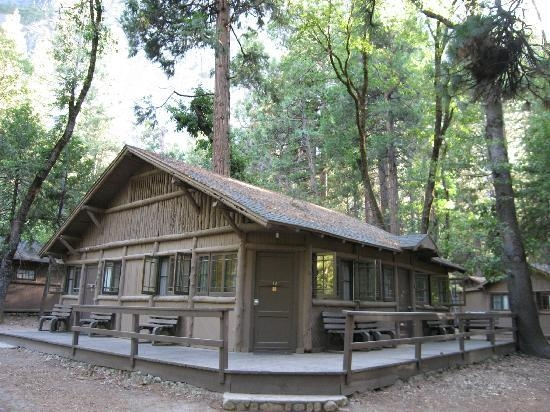 cabins in the woods of curry village picture of half dome village Yosemite Curry Village Cabin