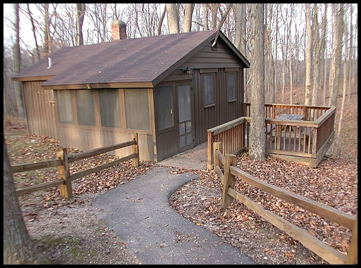 cabins mccormicks creek state park indiana Indiana State Parks With Cabins