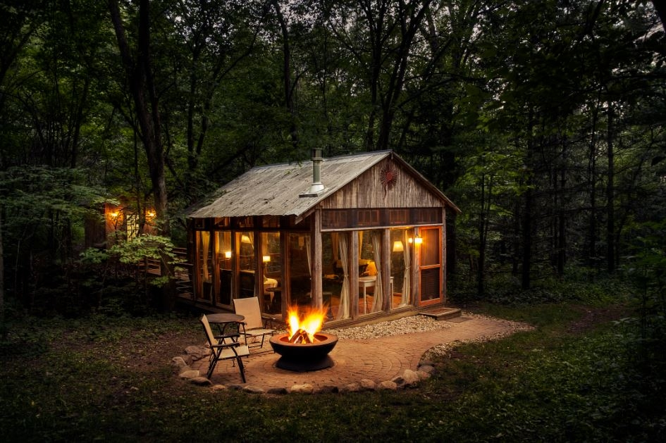 cabins more 8 amazing places to stay in wisconsin the bobber Secluded Cabins In Wisconsin