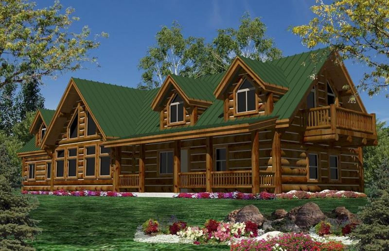 california log homeslog home floorplans calog home plans ca ca Two Story Log Cabin Layouts