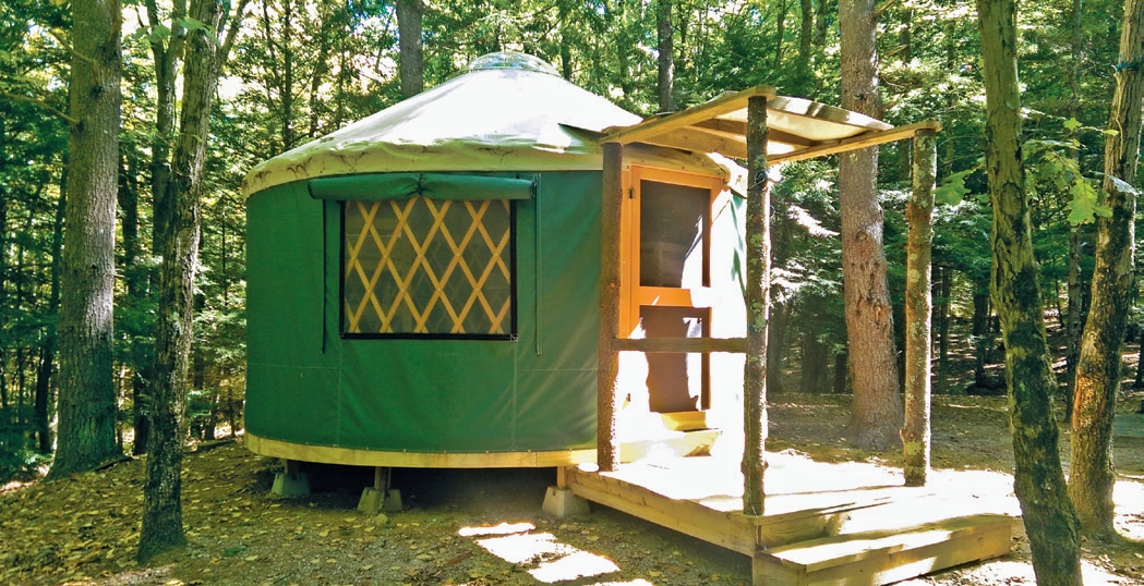 camping rentals in nh rvs cabins yurts new hampshire Campgrounds With Cabins In Nh