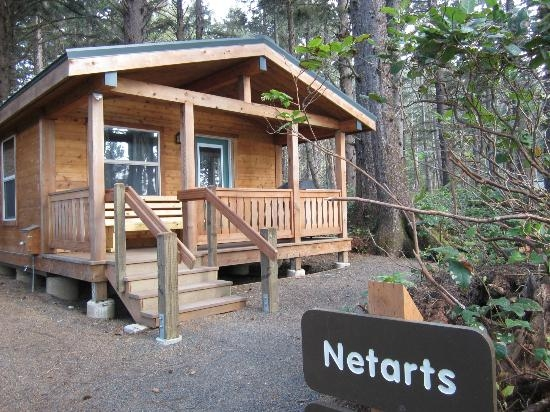 cape lookout state park cabins wow review of cape Cape Disappointment Cabins