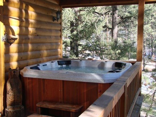 choice amenities such as a full kitchen washerdryer fireplace Ruidoso Nm Cabins With Hot Tubs