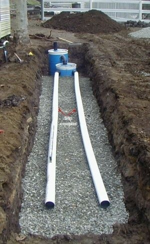 construct a small septic system things to know pinterest Small Septic Tank For Cabin