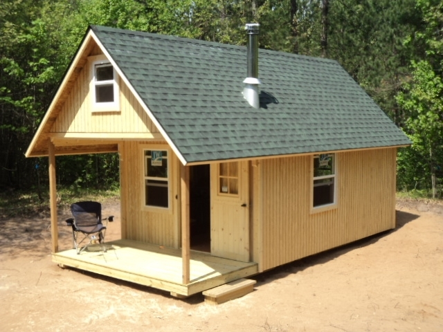 cool 1620 cabin with loft gallery log cabin plans 16x20 Cabin Plans With Loft