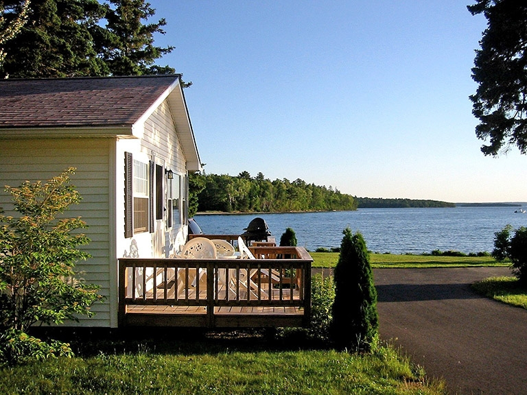 cottage rentals bar harbor maine lakeside cabin rentals donnel Cabins In Bar Harbor Maine