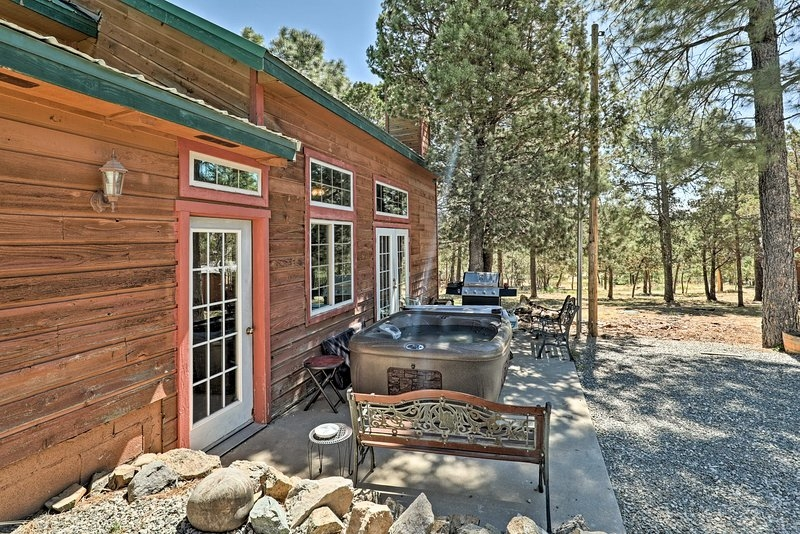 cozy big bear lodge large cabin whot tub view updated 2018 Ruidoso Nm Cabins With Hot Tubs