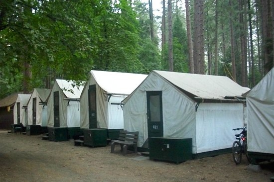 curry village tent cabins picture of half dome village yosemite Yosemite Curry Village Cabin