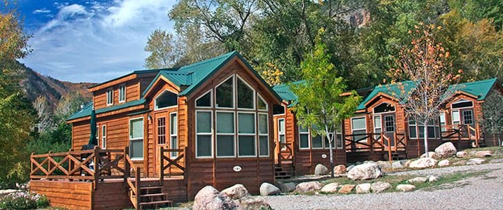 deluxe log cabins colorado river colorado resorts spring Cabins Near Colorado Springs