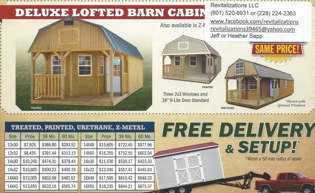 derksen portable buildings wwwrevitalizationsllc deluxe lofted barn Deluxe Lofted Barn Cabin Price