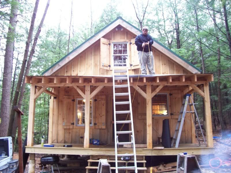 diary of a 20x24 cabin going up in nh great pictures for ideas Best Rated Small Cabin Desgns